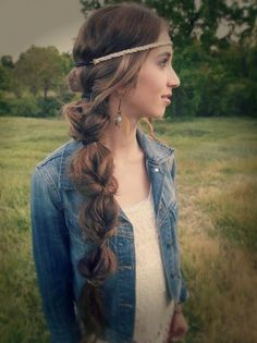 boho I wear this style all the time and love how easy and fast it is and still looks so pretty.