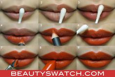 love this tip! anytime i wear red or pink i have always put concealer or powder on my lips before applying color. this is much better then what i do! :)      Ingenious lipstick tips from MAC's Nicole Thompson | Beauty Swatch