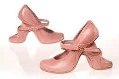 Mother and daughter shoes by Kobi Levi