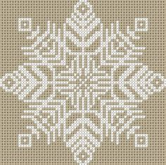 Gallery.ru / Snowflake - Cross Stitch - Emanuela62