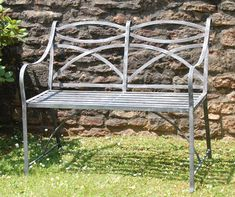 Classic Benches in Wrought Iron.