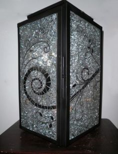 Crash Glass Lantern side 2