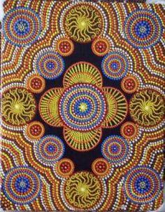 Aboriginal art.