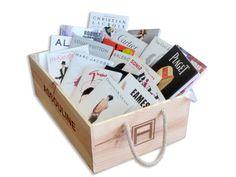Assouline vintage wooden crate