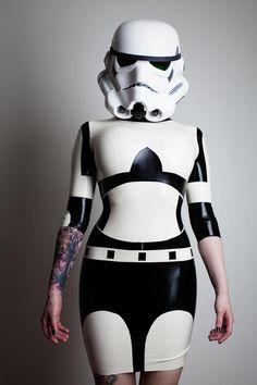 Star Wars Storm Trooper Dress