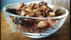 Fall Inspired Apple Granola (gluten/dairy/sugar free) Recipe