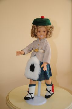 """Shirley Temple Doll and outfits from Danbury Mint - """"Little Colonel"""""""