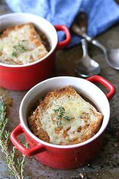 french onion and endive soup