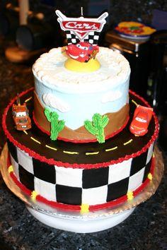 Disney/Pixars CARS Cake — Childrens Birthday Cakes