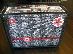 cute! mail organizing idea from   http://www.controllingmychaos.com/search/label/organizing