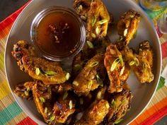 Honey Hoisin Glazed Wings from CookingChannelTV.com