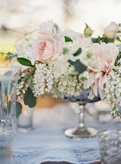 floral centerpieces, galleries, flower pictures, white flowers, inspiration, hanging flowers, wedding table centerpieces, romantic centerpieces, floral arrangements