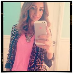 Maria Barros Wardrobe leopard and pink