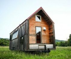 Tiny Trailer Home by Aaron Maret  A 200 square foot space fit for a family of three.