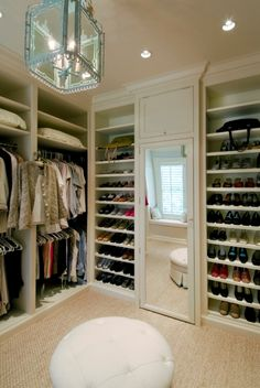 love the shoe shelves