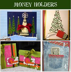 Cute ways to give money as a gift.