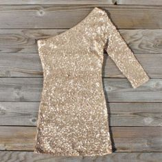 Golden Moon Party Dress