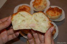 Muffin al prosciutto, scopri la ricetta: http://www.misya.info/2007/06/12/muffin-al-prosciutto.htm