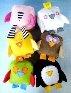 Bird Blocks, love these for little ones