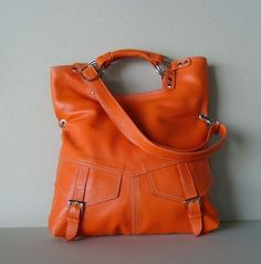 This purse is HOT!!! Absolutely LOVE it! Etsy - $125.00