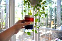 patriotic jello jars