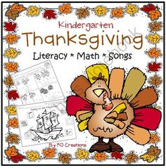 Thanksgiving in Kindergarten! Enter for your chance to win 1 of 3.  Thanksgiving in Kindergarten: Music * Math * Literacy (48 pages) from KD Creations on TeachersNotebook.com (Ends on on 11-2-2014)  Practice Kindergarten skills with a Thanksgiving theme!