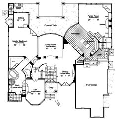 Master Bath has potential - plan 047D-0181 - houseplansandmore.com