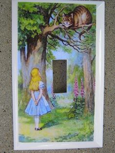 I want this for our alice in wonderland themed nursery