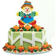 Tops in His Field Cake - perfect for Fall Festivities.