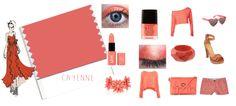 Cayenne - Rojo estridente, color de moda 2014. Color entre rosa, rojo y naranja que nos aporta los beneficios de todos ellos. Es un color muy cute apenas llamativo como el rojo puro por lo que es bastante nude para ir arreglada sin parecerlo y muy mona para estar radiante y saludar al nuevo dia.