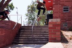 Fresh off the Thrasher presses and into your local video player comes a new part from burgeoning California skate talent Jeremy Leabres. Previously seen blazing trails with an energetic part inEmer...