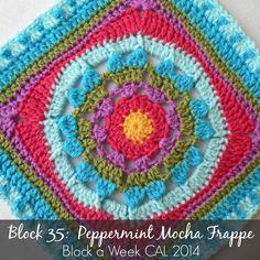 Block 35:  Peppermint Mocha Frappe {Photo Tutorial} block a week cal 2014  Photo