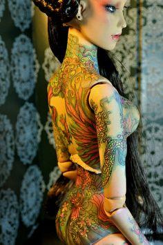 Tattooed Doll