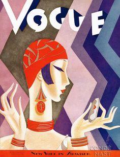 Vogue July 15, 1926 by Eduardo Garcia Benito