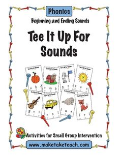 Perfect activity for working on beginning and ending sounds during small group intervention