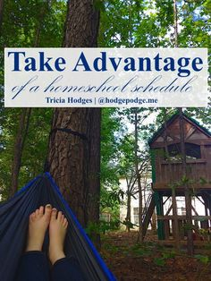 Taking Advantage of a Homeschool Schedule at Hodgepodge