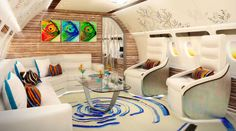 Private Jets Interio