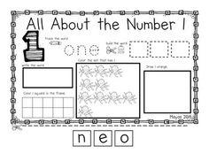 ALL ABOUT NUMBERS 1-10 NO PREP ACTIVITIES - TeachersPayTeachers.com