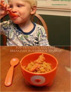 Breakfast Butternut Squash by @PaleoParents #AIPaleo