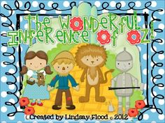 $. Inference Activity - The Wonderful Inference of Oz.  Just got the book from Kohls Cares to read to my class!!