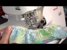 How to sew ruffles on an overlocker/serger