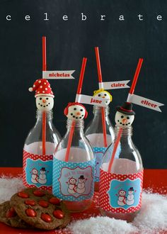 Snowman #Christmas #Party Craft Ideas with Free Printables by @livinglocurto