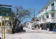 San Pedro on Ambergris Caye Belize