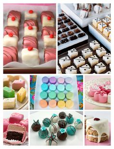 Sweet Wedding/Party Desserts..very nice idea for a wedding..
