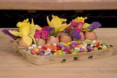 Easter Egg Carton -  Leanne and David Kesler, Floral Design Institute, Inc., in Portland, Ore. by Flower Factor, via Flickr