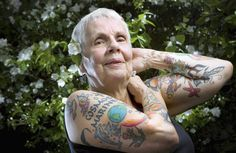 What are you gonna do when you're 80 and covered in droopy tattoos? Be a BAMF, that's what.