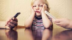 What happens when kids can't get their smartphone-glued parents' attention? @Nicole Novembrino Richings #parenting #adhd #smartphone