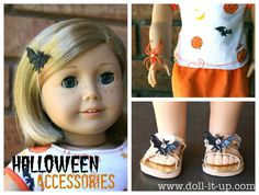 Make halloween accessories for your doll!