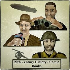 All three of my early 20th Century Pocket History comic books at a 25% discount to buying them separately. Included are 'The Endurance', 'The Hindenburg', and 'WW1-Life in the Trenches'. They all contain quizzes and other useful resources, and can be printed out in color, black and white, used as a slide show on a computer, or as a PDF e.book on a tablet. They can also be used on a SmartBoard.