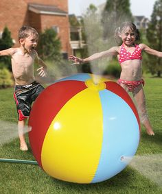 Take a look at this Sprinkle Ball by Summer Starts Here: Games & Toys on #zulily today!